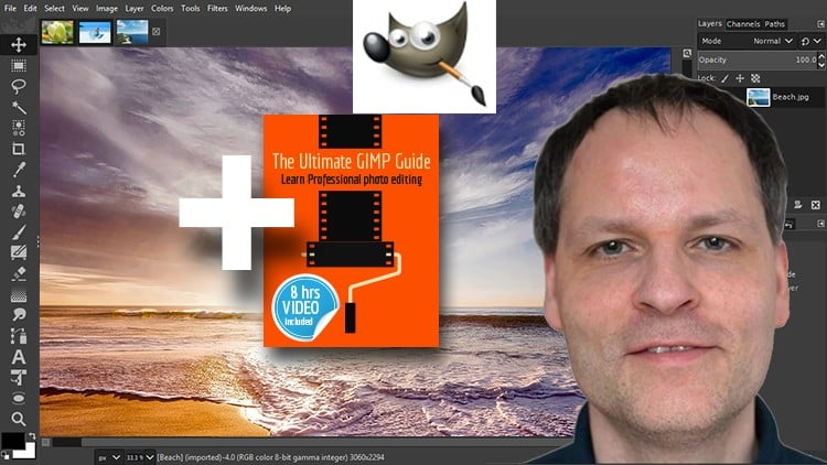 The Ultimate GIMP 2.10 Guide►Amazon 2.10 Book Included Soon